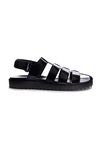 Yoke & Theam black Rowan Sandal 5C2FDSH95BAF9AGS_1