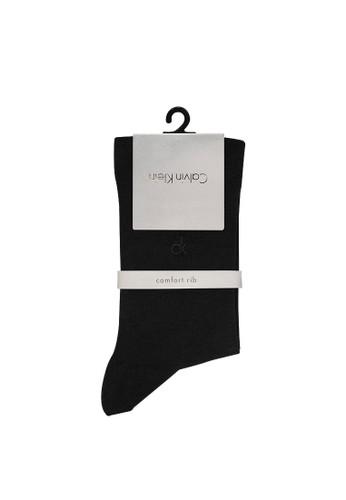 Calvin Klein Socks black CALVIN KLEIN Business Men Sock Comfort Rib 233A2AA3ECB034GS_1