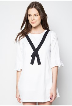 Black Ribboned Dress