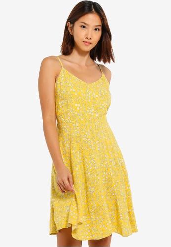 2a7bb49ea05 GAP yellow Soft Cami Dress 0FB70AA9CEDE98GS 1