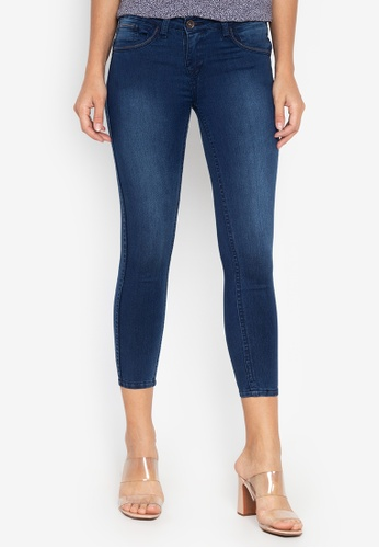 56b2cfc0f Shop Crissa Skinny Reversible Jeans Online on ZALORA Philippines