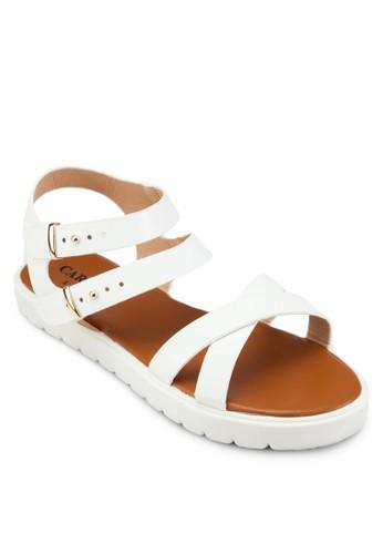 Double Bucklesprit暢貨中心e Sandals, 女鞋, 鞋