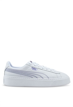 d628eafd217 PUMA white Basket Platform Twilight Womens Sneakers 9933BSH8BAB27EGS 1