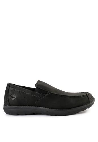 Timberland black Edgemont Moc Toe Slip On 8170CSH10A19C6GS_1