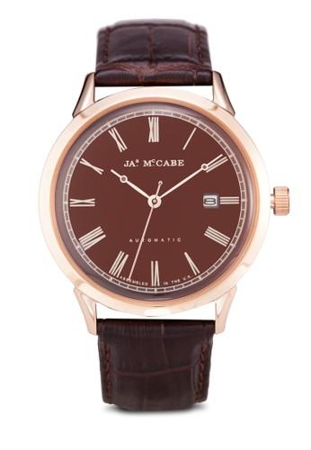 Heritage 羅馬數字皮革手錶,esprit 請人 錶類, 休閒型