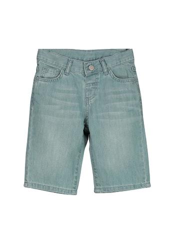 LC Waikiki blue Standard Fit Jean Roller Shorts 04E40KA749FCF9GS_1