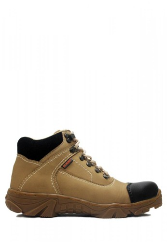 Cut Engineer grey Cut Engineer Safety Boots Steal Composite Brown Leather 0991BSHC979BACGS_1