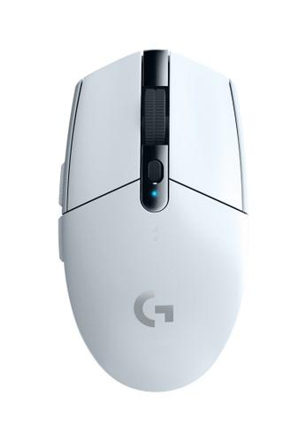 Logitech white Logitech G304 LightSpeed Wireless Gaming Mouse (White) 05E36ES6C0A3ADGS_1