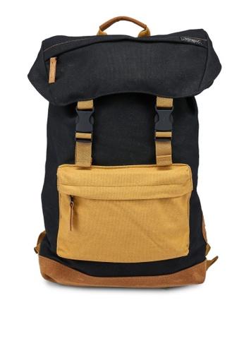 Superdry black Toploader Backpack - Original & Vintage C4900ACC73C53FGS_1