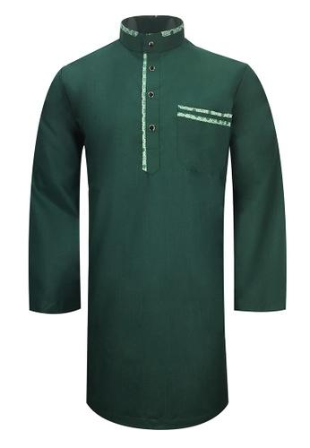 Pacolino green Baju Kurta Muslim For Kids - D27039 (Green) 43946KAAA60631GS_1