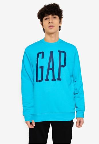 GAP blue V-Lw Db Logo Flc EF575AAA54950BGS_1