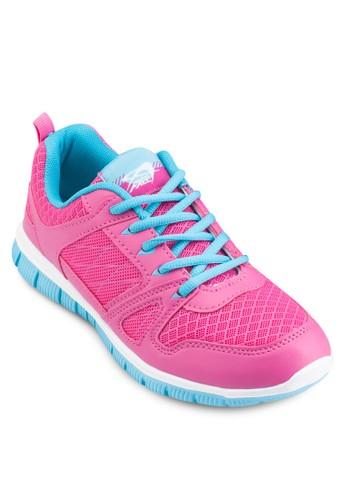 撞色女性跑步運動鞋, 女鞋, 穩esprit tw定型跑鞋