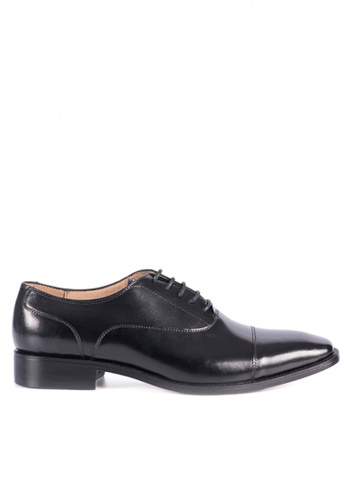 Bristol Shoes black Berkley Black Captoe Oxford BR842SH64KCLPH_1