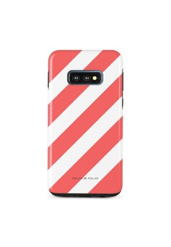 Polar Polar red Scarlet Slash Dual-Layer Tough Case Glossy For Samsung Galaxy S10E 5D161ACB62A0DFGS_1