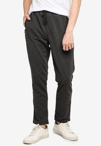 LC Waikiki grey Standard Fit Sweatpants D6AC2AAD60C7BCGS_1