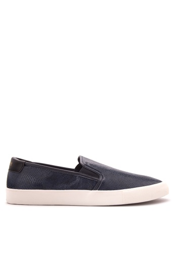 Jim Rickey navy JR-1 Sneakers JI829SH46PONPH_1