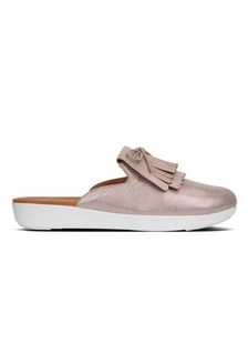 c0b2f10e5e8 Fitflop Superskate Fringe MTL Leather Blush  Metallic Nude  DBD6DSH1AD4718GS 1