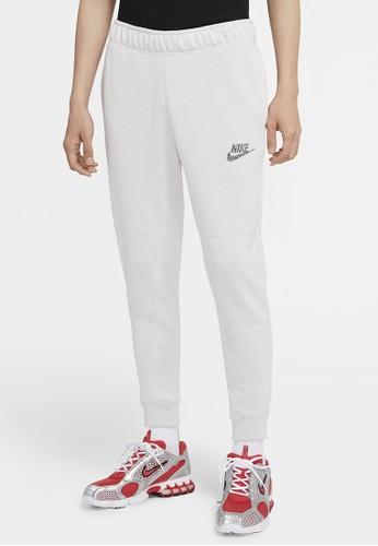 Nike white AS Men's Sportswear Joggers FT 9BAA9AA0094988GS_1
