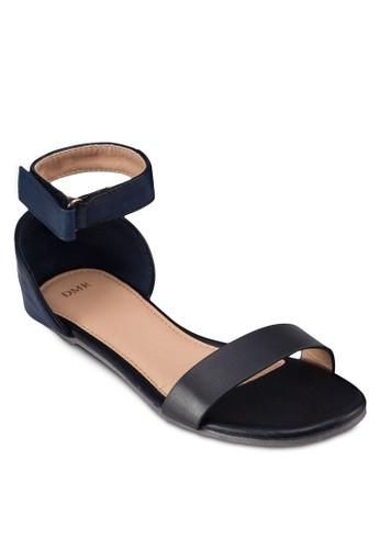 一字帶繞踝平底涼鞋, 女鞋,esprit門市 鞋