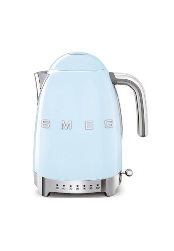 SMEG KLF04PBUK Variable Temperature Kettle, Pastel Blue 17FF7HL5FF28E8GS_1