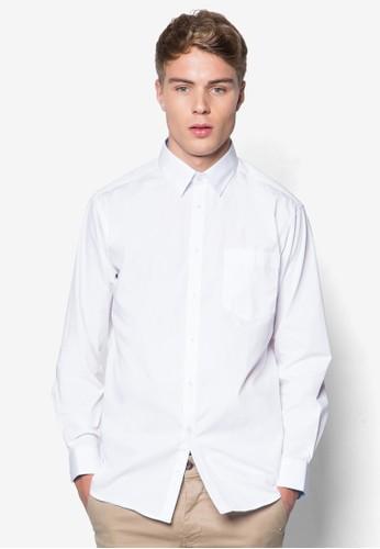素色長袖esprit 台北襯衫, 服飾, 襯衫
