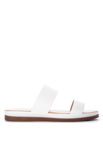 Matthews white Tessa Flat Sandals D6726SH5501A5DGS_1
