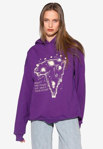 Local Heroes 紫色 What Stars Say Hoodie 3F5DCAA8C42CBDGS_1