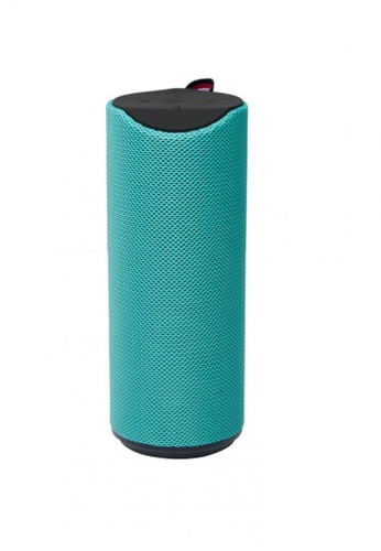 Stylebox green JC-180 Circular Portable Outdoor Bluetooth Speaker A20DBACB299FFBGS_1