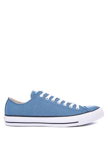 Converse blue Chuck Taylor All Star Textile Sneakers 5B2CASHA48357EGS_1
