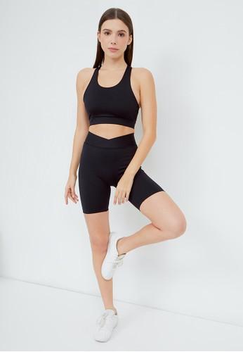Saehwa black Eli Biker Shorts - Limited Edition FD7E0AA673B187GS_1