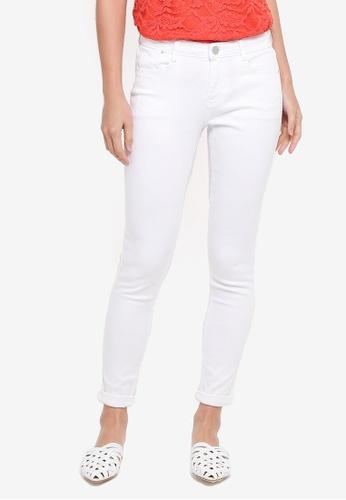 Dorothy Perkins white White Harper Jeans F0618AA9B17B51GS_1