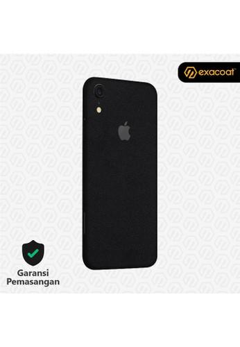 Exacoat iPhone XR 3M Skins Matte Black - Cut Only D3DABES12D06C2GS_1