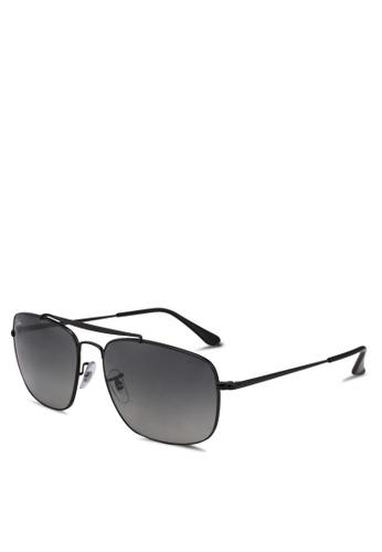 Ray-Ban black RB3560 Sunglasses 1BC67GL3C86E81GS_1
