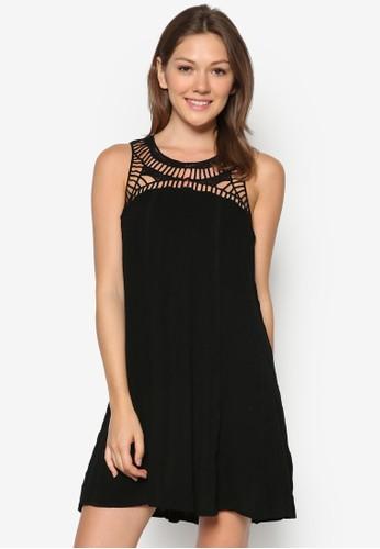 鉤針無袖連身裙zalora 折扣碼, 服飾, 服飾