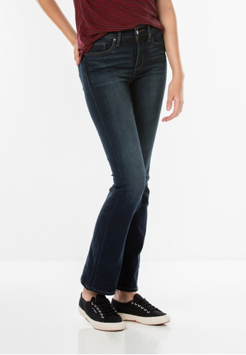 Levi's blue 315 Shaping Boot Cut Jeans 74A71AAB6116E6GS_1