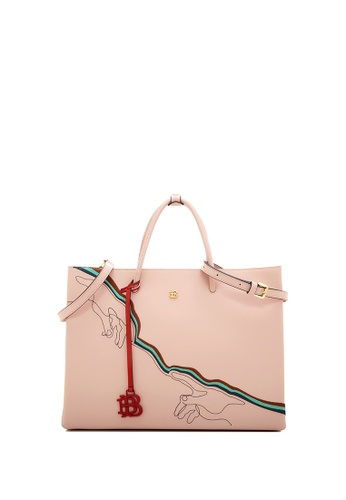 BONIA pink Blush Pink Fexmy Top Handle Tote 56F5AAC9F5E553GS_1