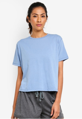 Cotton On Body blue Boxy T-Shirt 215BDAAECBBE0EGS_1