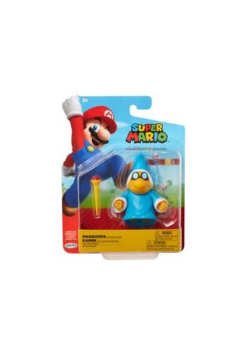 Kidmoro Nintendo Super Mario: W19 MARIO w/ SUPER MUSHROOM Poseable 4-inch Figure with Accessories CBBE3ESDE1D52DGS_1