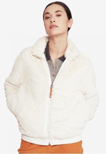 Aigle white Conifure Fleece Jacket F85B2AA38FD7C9GS_1