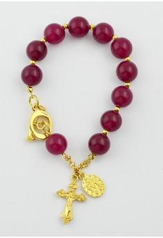 Kasaros Ruby Rosary Bracelet