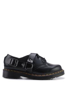 83f816e624 Dr. Martens black Fulmar 3 Eye Shoes 0FA4DSH3EBFF74GS 1