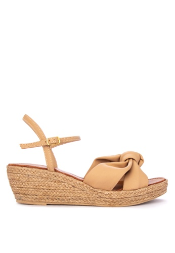 33173b3b54ef Shop Janylin Bow Espadrille Sandals with Ankle Strap Wedges Online on  ZALORA Philippines