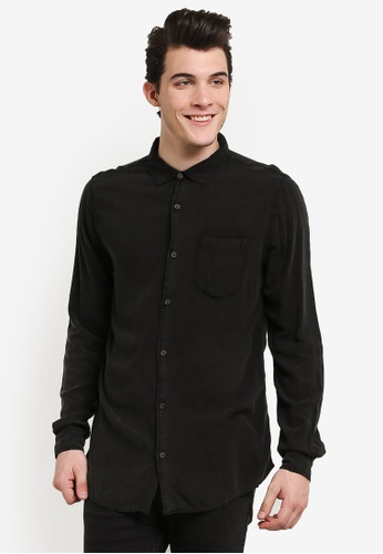 Cotton On black 91 Shirt CO372AA0RI0EMY_1