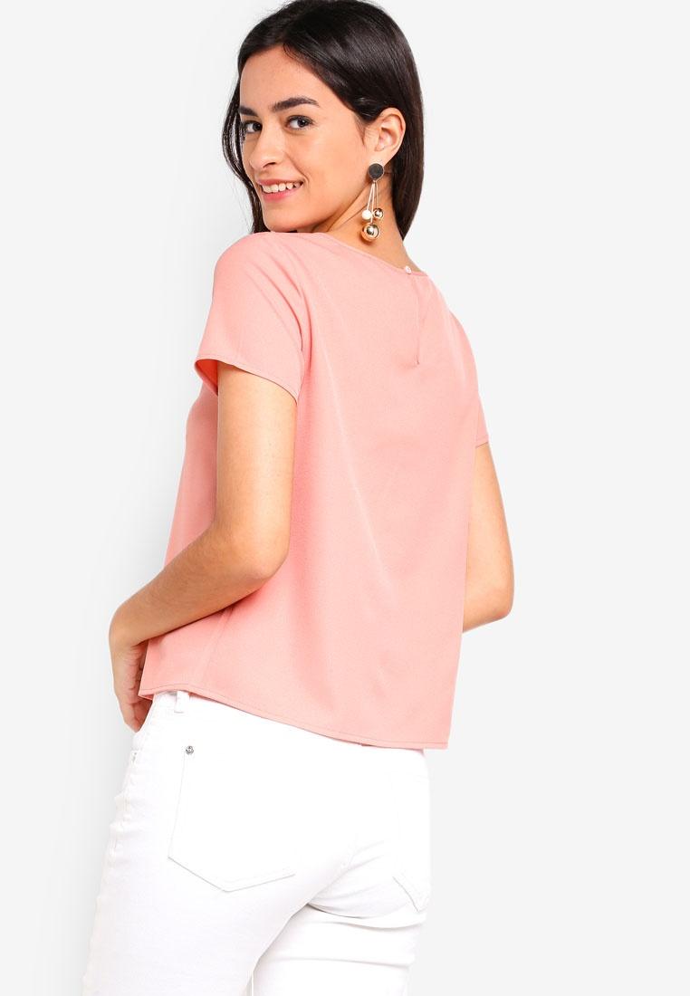 Lace Pink ZALORA Dusty Blouse ZALORA Pink Blouse Blouse Dusty Lace ZALORA Lace 7nqFaIOa