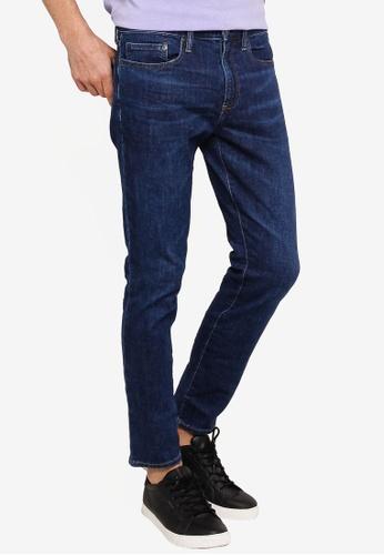 GAP blue Skinny Lightweight Medium Dark Jeans 4FE3FAA7774D84GS_1