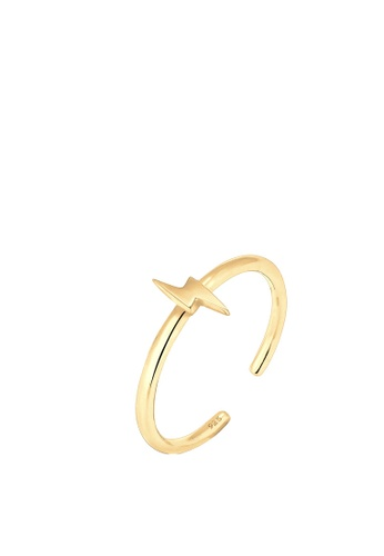 Elli Germany gold Elli Germany Flash 925 Sterling Silver Ring EL474AC53OLAMY_1
