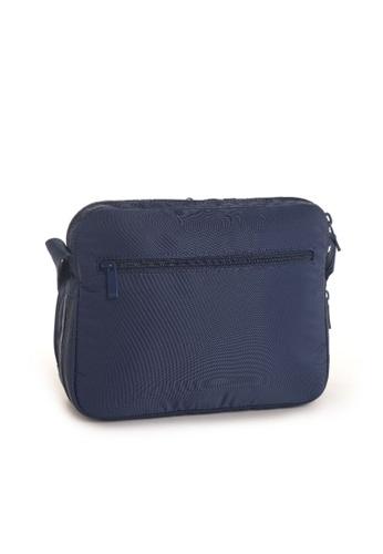 Hedgren blue Hedgren Metro Multi Compartment Crossover Bag Dress Blue - 4.87L 05480ACCDB4109GS_1