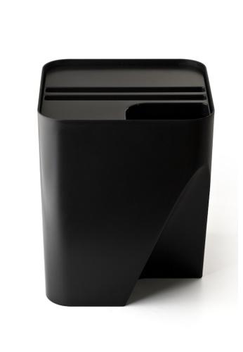 Qualy Qualy Block 30 Recycling Bin (Black) 7D24DHLC11ADC7GS_1