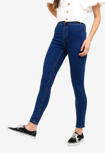Cotton On blue High Rise Jeggings 084A7AA7A14819GS_1