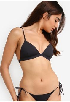 9b3ccefe3069d7 Billabong black Sol Searcher Fixe Tri Bikini Top C4409US647F7E3GS 1